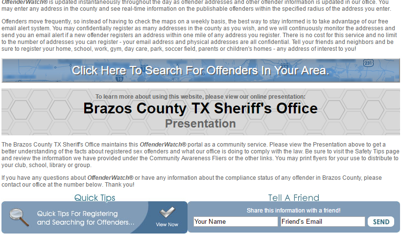 florida sex offender registration community notification